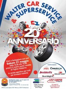 20° ANNIVERSARIO walter car service