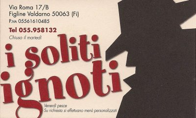 I Soliti Ignoti – Restaurant Pizzeria
