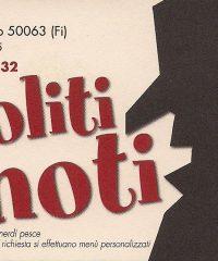 I Soliti Ignoti – Restaurant Pizzeria