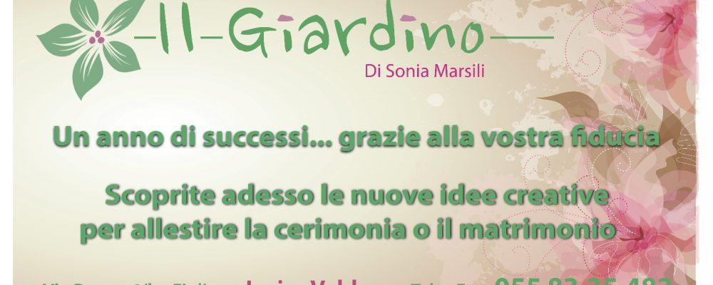 Il giardino di Sonia Marsili ringrazia per la fiducia…